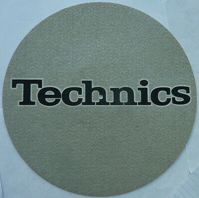 Technics Slipmat Filzmatte Old School Vintage Top