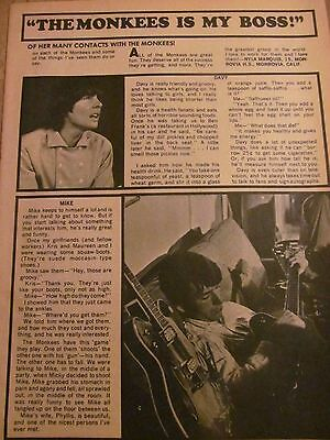 The Monkees, Full Page Vintage Clipping