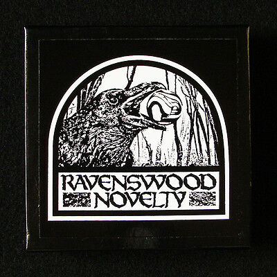 "Marbles Ravenswood Novelty. design 3.5"" fantasy collector box with insert"
