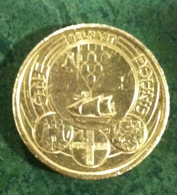 Rare £1 One Pound Coin Royal Mint Capital Cities Of The Uk Belfast-2010