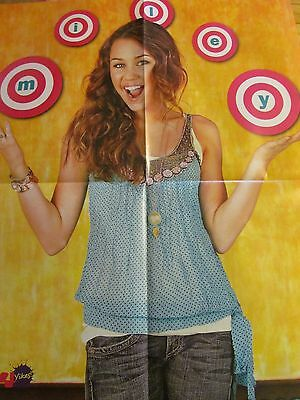 Miley Cyrus, Cody Linley, Double Four Page Foldout Poster