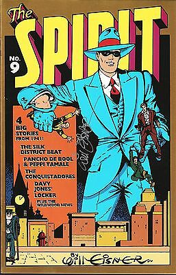 The Spirit The Origin Years No.9 / 1993 Signed by Will Eisner with Certificate