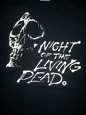 Night Of The Living Dead Cult Horror Classic Film Movie Black Canvas Back Patch