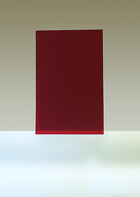 "Rubylith, 1 Sheet, 11"" x 17"", Red"