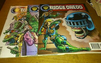 3 Complete Judge Dredd Comics, 1992/93
