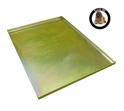 """Gold Metal Non Chew Tray for Large 36"""" Dog Puppy Pet Cage"""