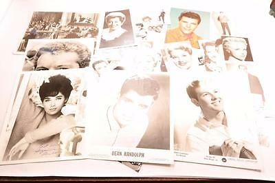 Vintage 1950-1960's Hollywood/Music Celebrities Photos Autographs No Reserve