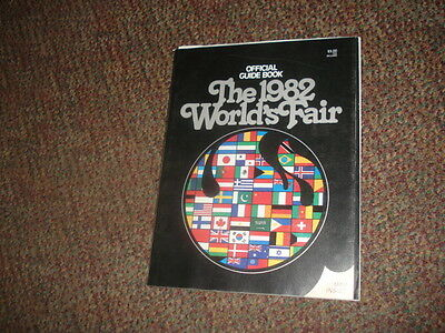 1982 WORLD'S FAIR KNOXVILLE TN. OFFICIAL GUIDE BOOK PROGRAM MAGAZINE w/ MAP Ads