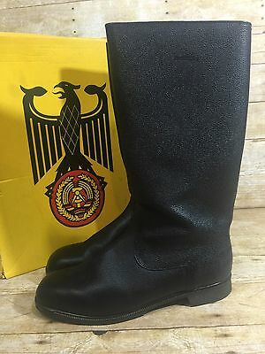 Black German Army Jack Boots Knobelbecher Mens size 14 NEW in Box
