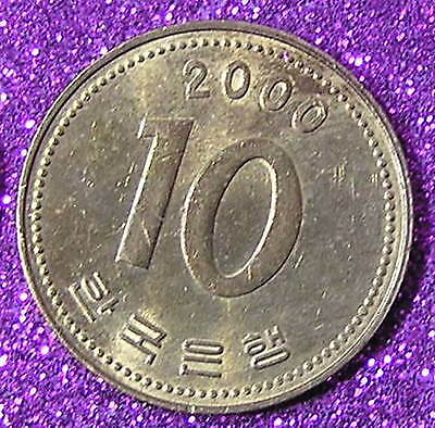 1-Coin from South Korea.  10-Won.  2000.