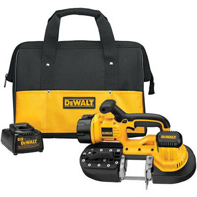 DeWalt DCS370K 18V 15 in. XRP Cordless Band Saw Kit with Contractor Bag New
