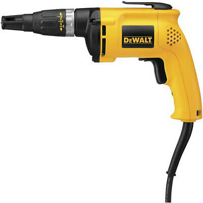 DEWALT 6.5 AMP 0-2,500 RPM VSR Drywall/Framing Screwdriver DW276 ...