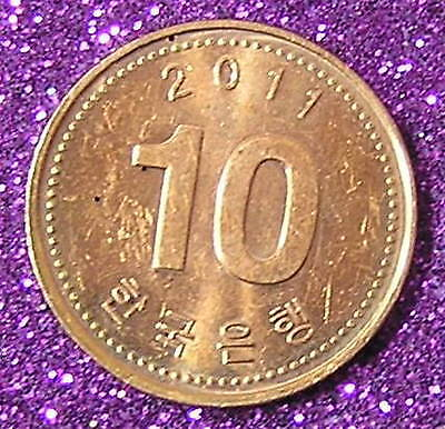 1-Coin from South Korea.  10-Won.  2011.