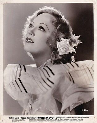 MARION DAVIES Original Vintage 1937 EVER SINCE EVE Warner Bros. Portrait Photo
