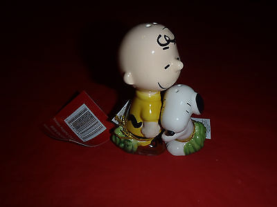 Westland Peanuts Snoopy & Charlie Brown Salt & Pepper Shakers