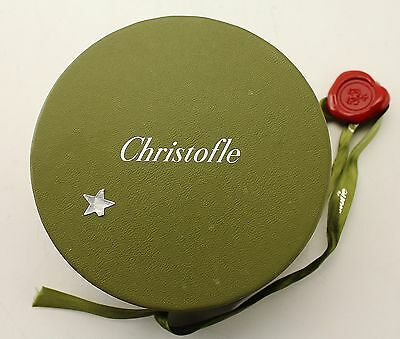 Christofle | Used , Clean Century Blue Heart Paperweight Decor