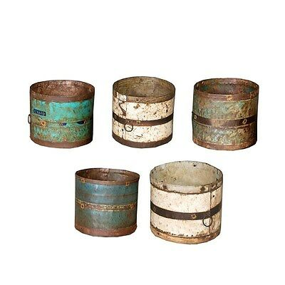 Silkroute PL1533  Iron Bucket Assorted