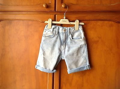 Boys Age 5/6 Years Blue Denim H&M Shorts.
