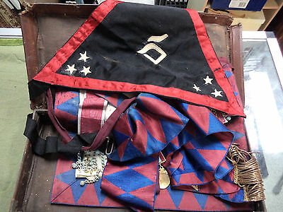 #Dd6.  Masonic  Regalia, Needs Maintenance