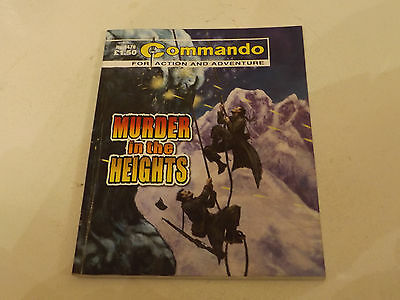 Commando War Comic Number 4476!,2012 Issue,good For Age,04 Years Old,very Rare