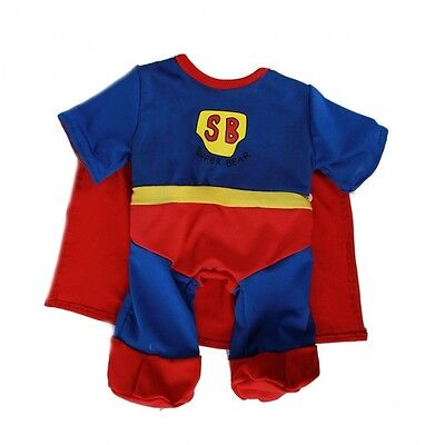 """Superbear Outfit Teddy Bear Clothes to fit 8""""-10"""" bears"""