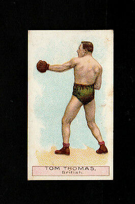 "Wills 1911 Scarce Action ( Boxing ) Type Card "" Tom Thomas -- Boxers Series """