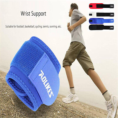 Wrist Support Brace Strap Gym Weight lifting Sprains fitness Elastic wristband