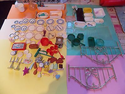 Vintage Dolls House Furniture inc Sindy,Barbie and Others