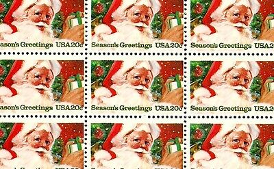 1983 - CHRISTMAS - SANTA CLAUS - #2064 Mint -MNH- Sheet of 50 Postage Stamps