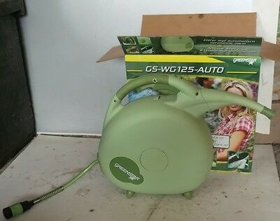 Greenstar Watering Can with 12.5m/ 40ft automatic rewind hose
