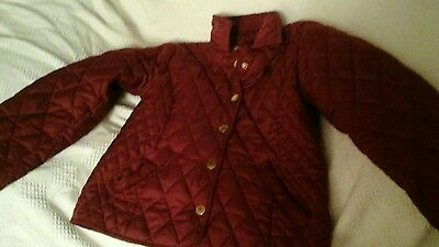 Girls red YR jacket 9 to 10 years