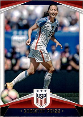 2016 Panini USA Soccer USA National Team #15 Christen Press