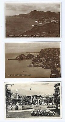 Postcard Collection Torquay Newquay & Capstone Hill RP