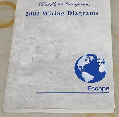 2001 Ford Escape Wiring Diagrams Service EVTM Manual
