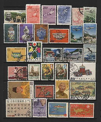 China Collection 30 Modern Space Filler Stamps Used