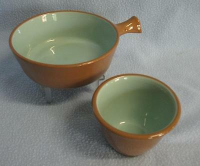 Vintage Chatteau Buffet Taylor Smith Taylor Buffet Bowl w/Handle, Custard Cup