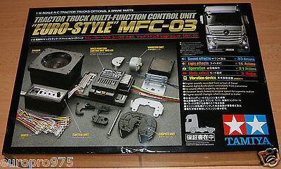 """Tamiya 56523 Tractor Truck Multi-Function Control Unit """"Euro-Style"""" MFC-03"""