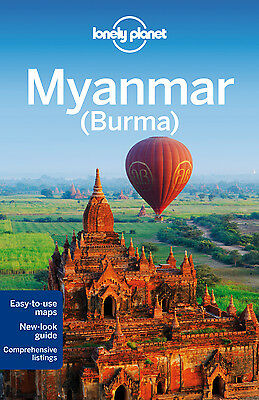 Lonely Planet MYANMAR (BURMA) 12 (Travel Guide) - BRAND NEW PAPERBACK