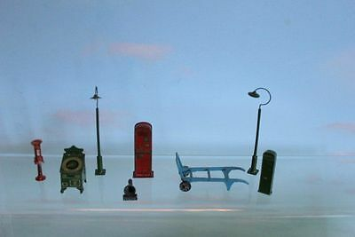 Hornby O Gauge Station Accessories Metal Some Pre War