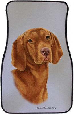 Car Floor Mats Pair - Vizsla 36052