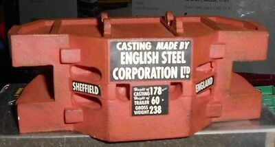 Corgi Heavy Haulage Steel Casting Load by English Steel Corporation