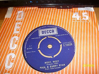 paul and barry ryan/missy missy[1966]