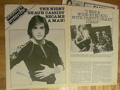 Shaun Cassidy, Great Vintage Clipping