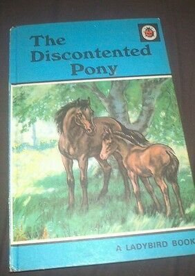 Vintage Ladybird book The Discontented Pony. 18p Net. COLLECTABLE.