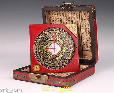 Oriental Wood Leather Longfeng Jewelry Box Abacus Collection Household Decoratio