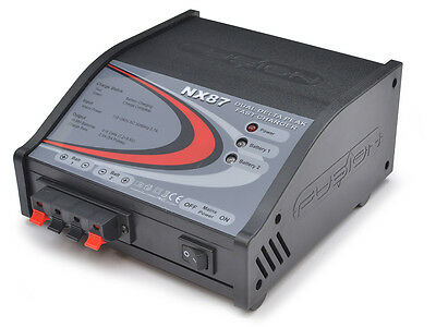 Fusion 5ive NX87 Delta Peak Dual Output Charger #O-FS-NX87