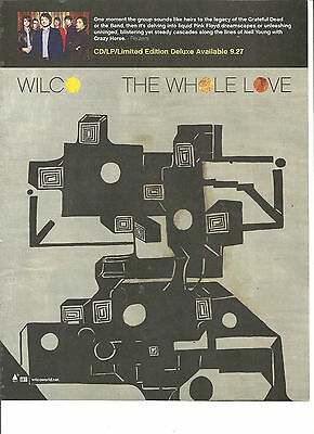 Wilco, The Whole Love, Full Page Promotional Ad