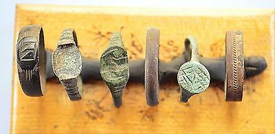 Medievil Viking Period rings with drawing