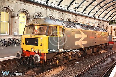 6x4 Photo BR Large Logo 47580 at Newcastle