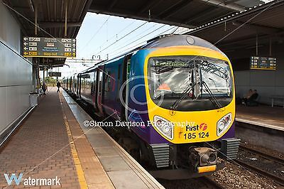 6x4 Photo Transpennine Express 185124 at Liverpool South Parkway